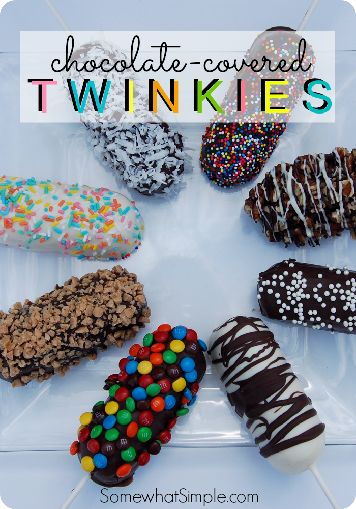 Chocolate Covered Twinkies On A Stick Pinterest Best