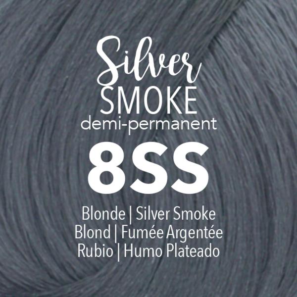 Demi Permanent Silver Smoke Demi Permanent Demi Natural Hair Styles