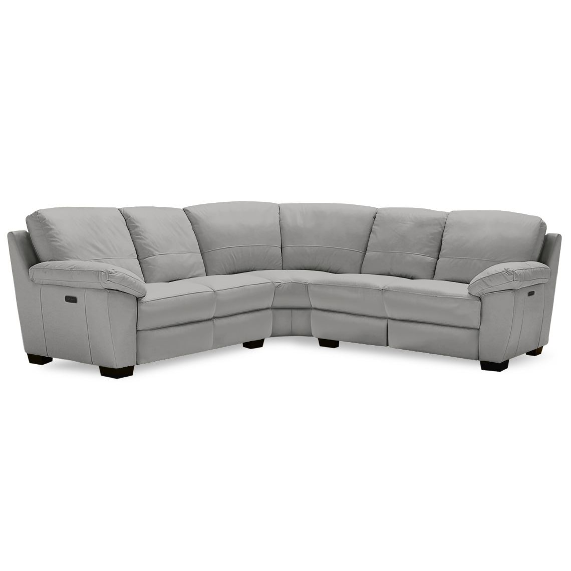 Lucas Recliner 5 Seat Leather Corner Modular Sofa With 2x Electric Recliners Modular Sofa Reclining Sofa Dining Room Table Chairs