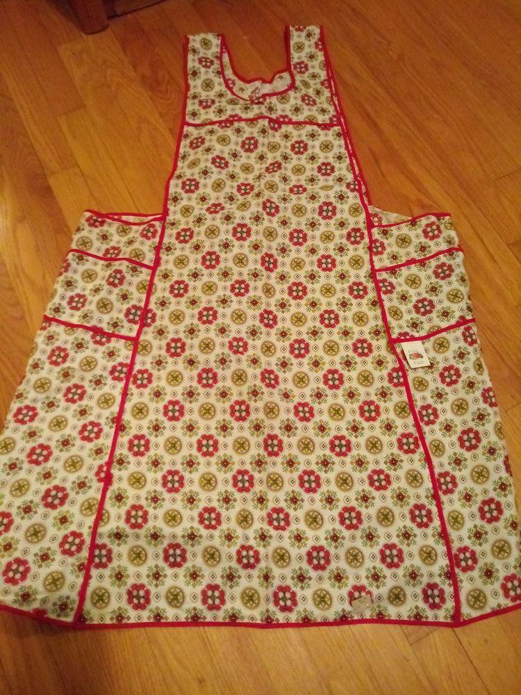 Vintage Fruit of the Loom. VINTAGE apron, Bib Original Tag