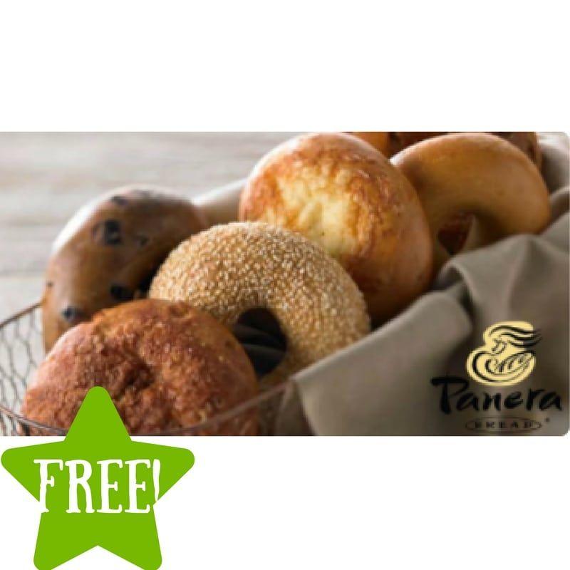 FREE Bagel Everyday in August for Panera Members Panera