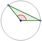 triángulo obtusángulo isósceles