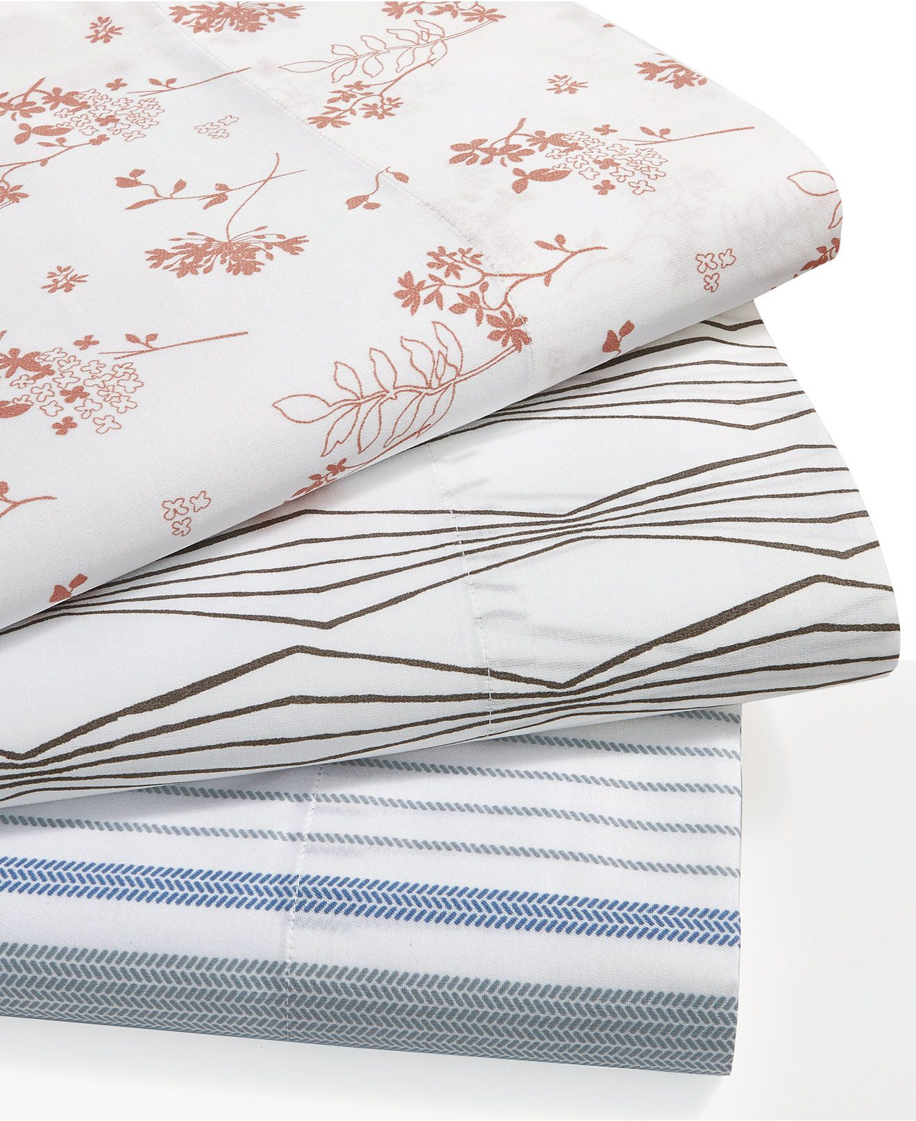 Printed Sheet Sets Organic Cotton 300 Thread Count Printed Sheet Sets Gots Certified