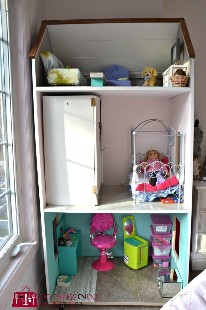 DIY Dollhouse for American Girl Dolls