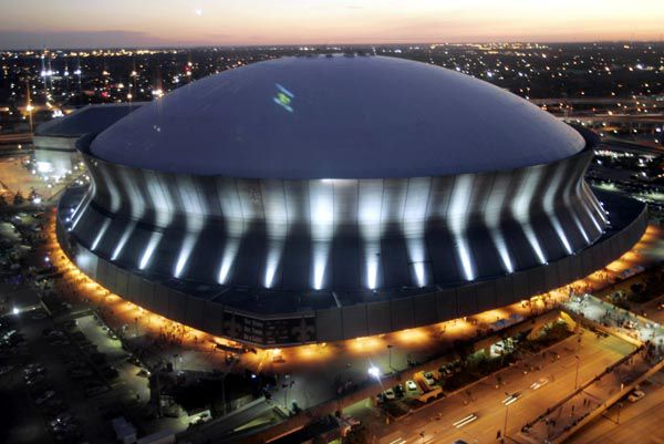 Hello From The Superdome New Orleans Saints Stadium New
