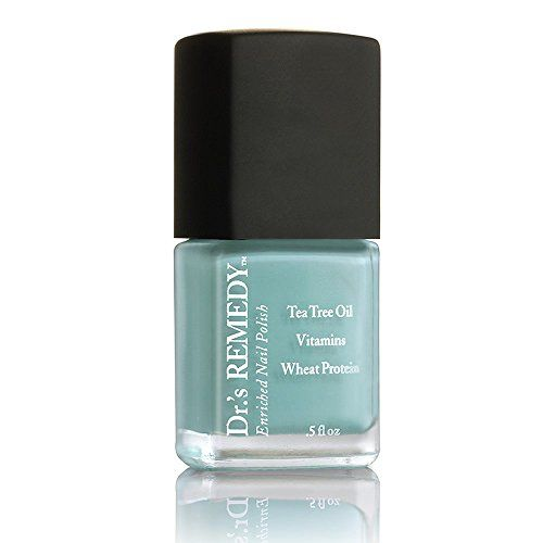 Drs Remedy Enriched Nail Polish Trusting Turquoise 05 Fluid Ounce For More Information Visit Image Link This Is An A Nail Polish Nails Vegan Nail Polish