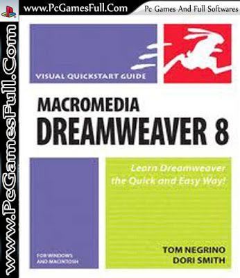 Macromedia Dreamweaver 8 Free Download Full Version