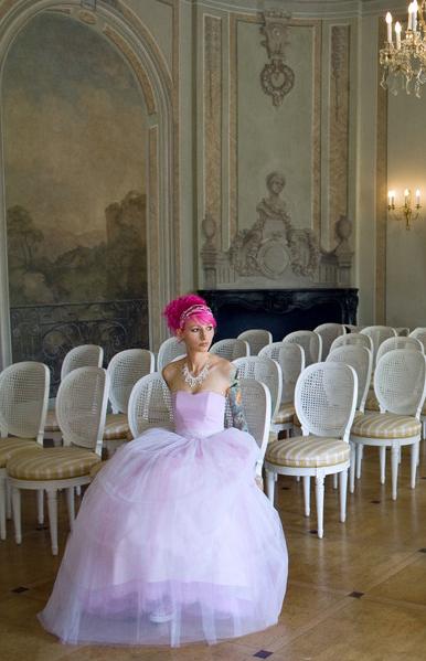 Béatrice & Danny intimate french, vintage, diy wedding
