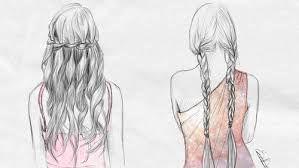 Resultado de imagen para plumas en el cabello tumblr