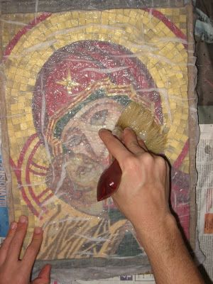 When in Rome: Finishing up the mosaic - all my trade secrets revealed!