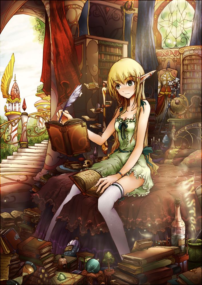 Warcraft 3 Anime Characters : Wow anime blood elf world of warcraft my