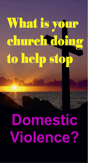 Pastors, church leaders, professionals, coworkers, and friends need to become educated about #domesticviolence symptoms so they can identify potential victims.  http://www.crosswalk.com/family/marriage/what-churches-can-do-to-address-domestic-abuse-11596483.html