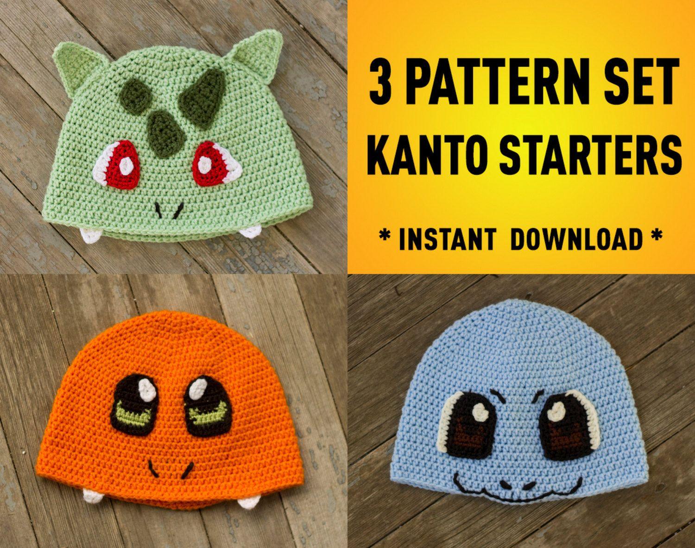 Pokemon Boys Crochet Hat Free Pattern | Pokemon Knitted Hat Popular ...