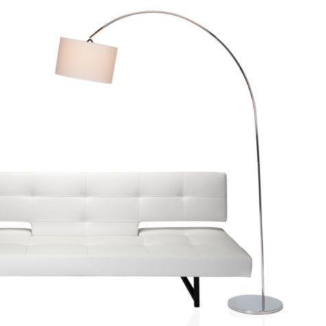 Enzo floor lamp chrome floor lamps lighting z gallerie