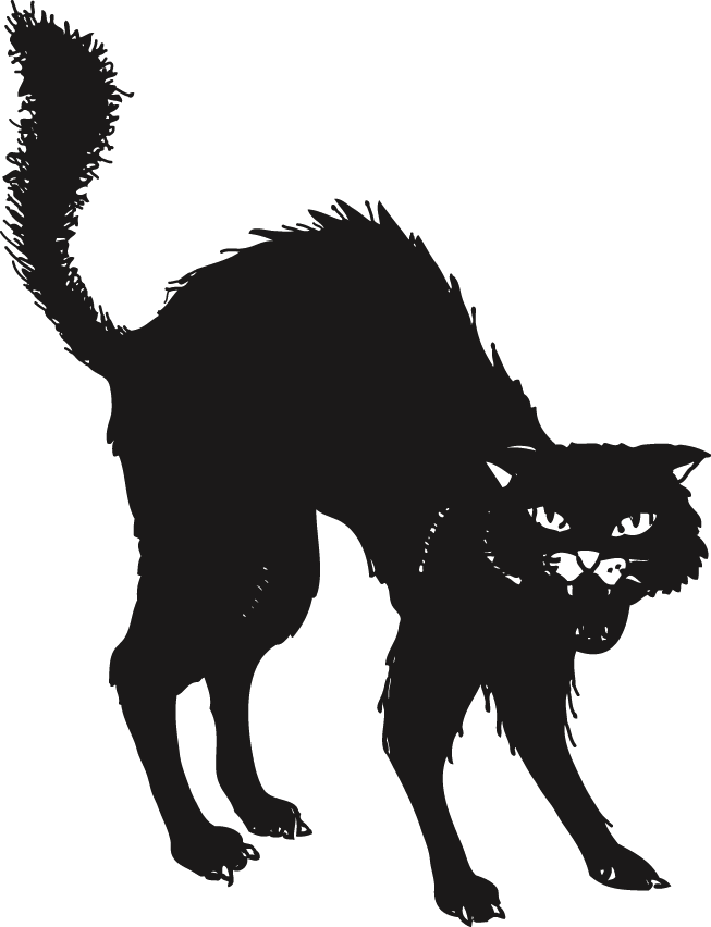 Est U Ghjattu Neru Le Chat Noir Black Cat Tattoos Black Cat Drawing Cat Tattoo