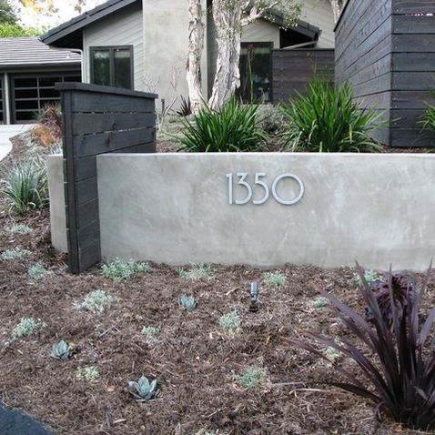 San Diego Curb Appeal Landscape Design Ideas Pictures Remodel And Decor Modern Landscaping Modern Landscape Design Landscape Curbing