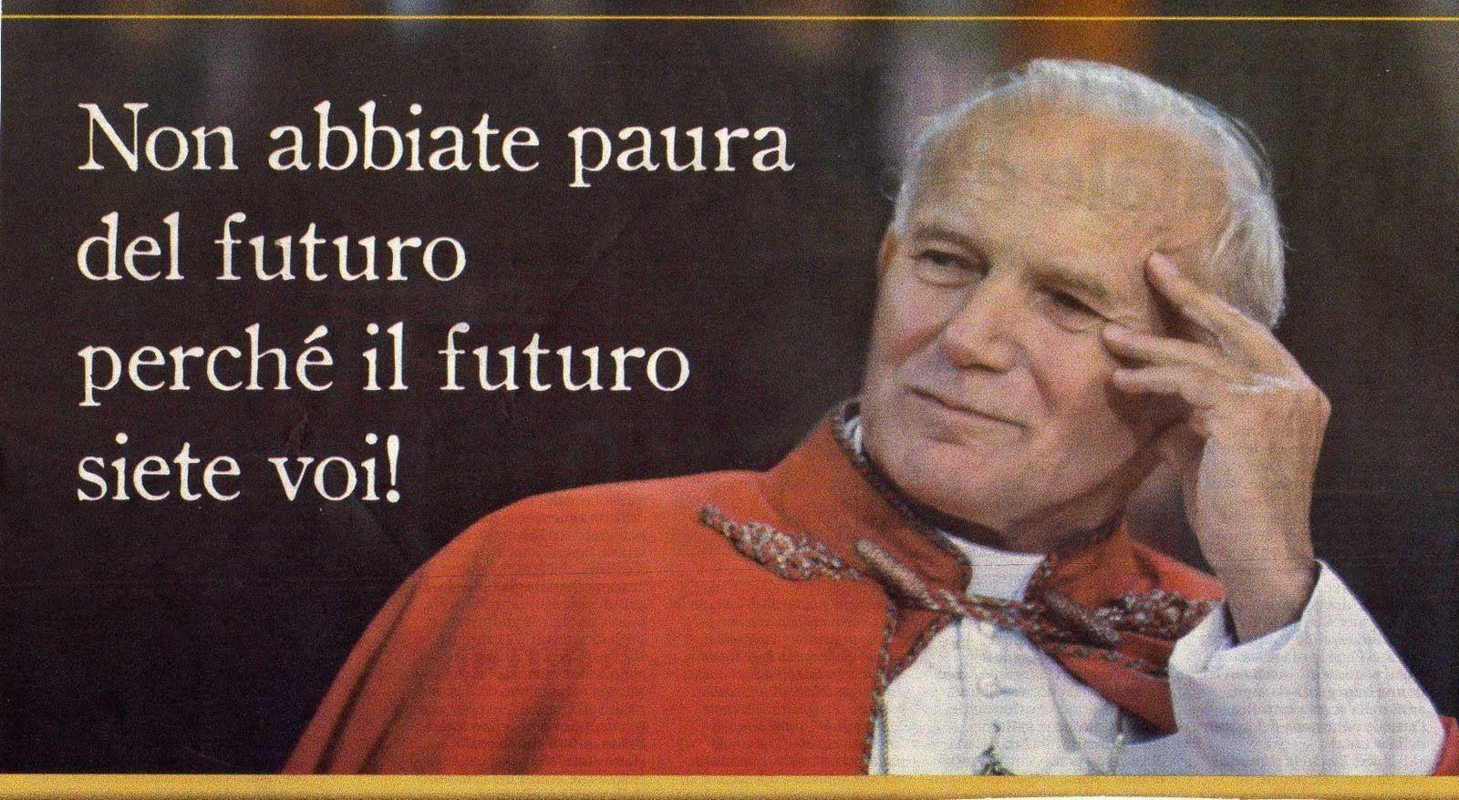 Frasi Matrimonio Papa Wojtyla.Papa Giovanni Paolo Ii 10 Anni Dalla Morte Citazioni Spirituali