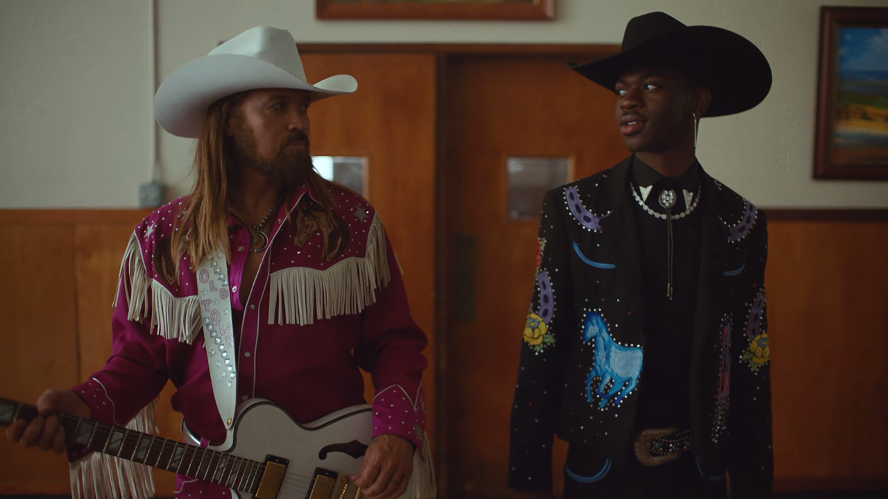 Lil Nas X & Billy Ray Cyrus Youtube rewind, Road music