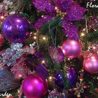Christmas Color Trend #1 -- Jewel Tones (colors like amethyst violet