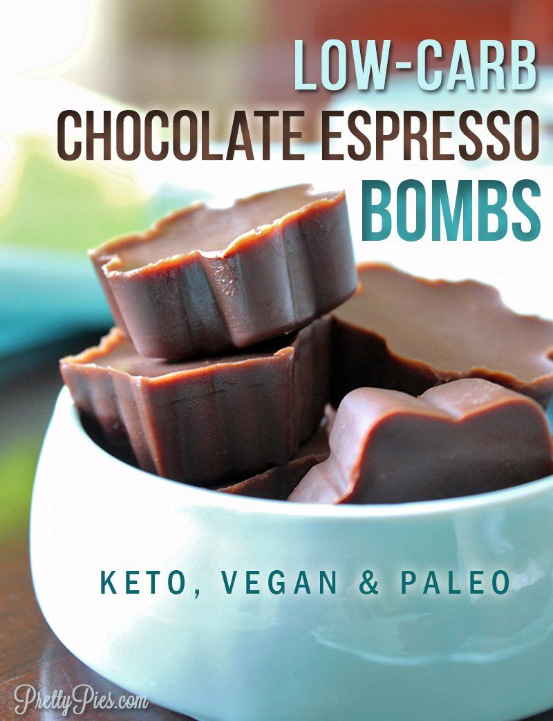 Chocolate Espresso Bombs Keto Vegan Paleo