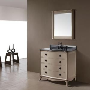 042fa0ee9d189 Pegasus Ella 36 in. Vanity with Black Granite Top and White Undermount  Basin-11802-VS37A at The Home Depot