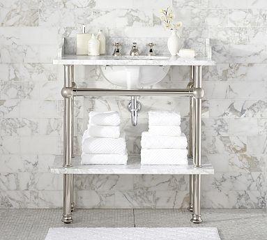Apothecary Single Sink Vanity Bathroom Re Model