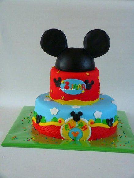 Mickey Mouse - by PreciousPeggy @ CakesDecor.com - cake decorating website