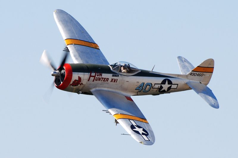 The Hun Hunter Xvi P 47 Thunderbolt Model Airplanes Wwii Airplane Wwii Aircraft