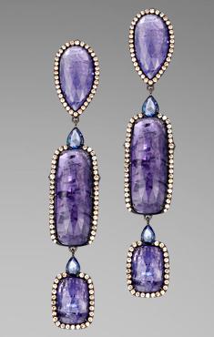 john hardy tanzanite earrings