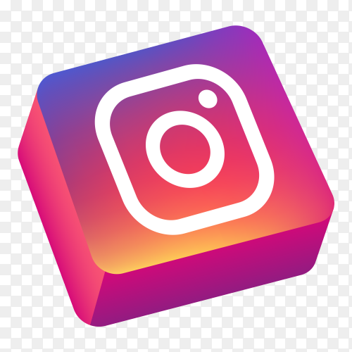 Logo Instagram 3d Icon Png Logo Icons 3d Logo 3d Icons