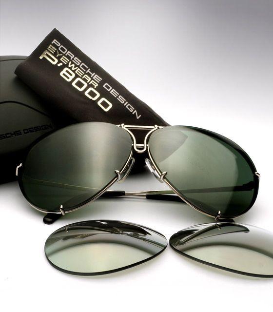 9e50b77f94 Porsche Design Sunglasses P 8478 Interchangeable Lenses Titanium ...