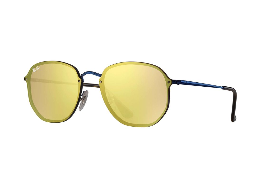 Oculos De Sol 0rb3579n Blaze Hexagonal Espelhado Ray Ban Brasil