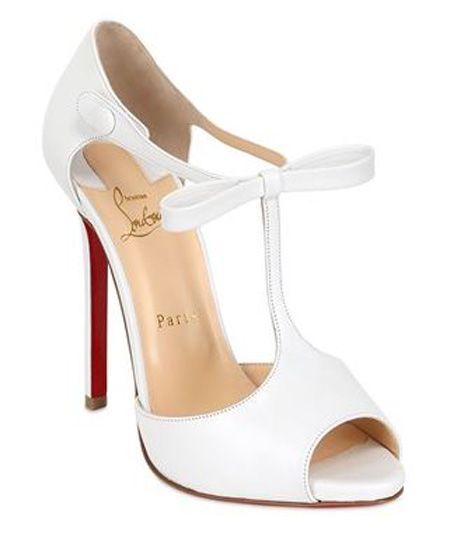 Christian louboutin wedding shoes
