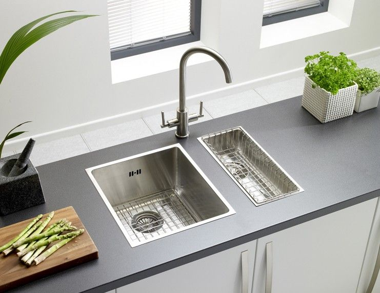 Onyx 4016 Half Bowl Flush Inset Sink | Astracast | Thorpeness ...