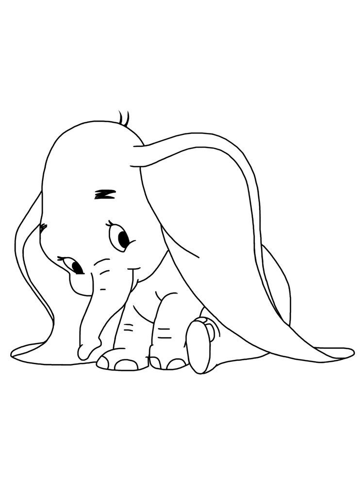 Printable Dumbo Coloring Pages For Kids Free Coloring Sheets Elephant Coloring Page Kids Printable Coloring Pages Cartoon Coloring Pages