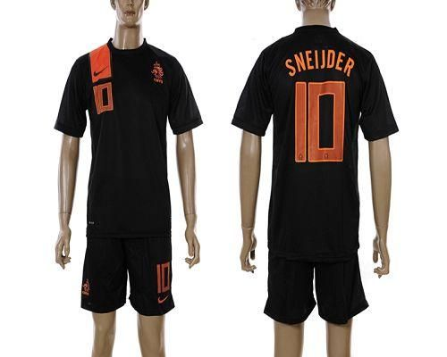 2e2297facb7 ... inexpensive holland 10 sneijder 2012 2013 black away soccer country  jersey only 20.50usd a26ef c84e9