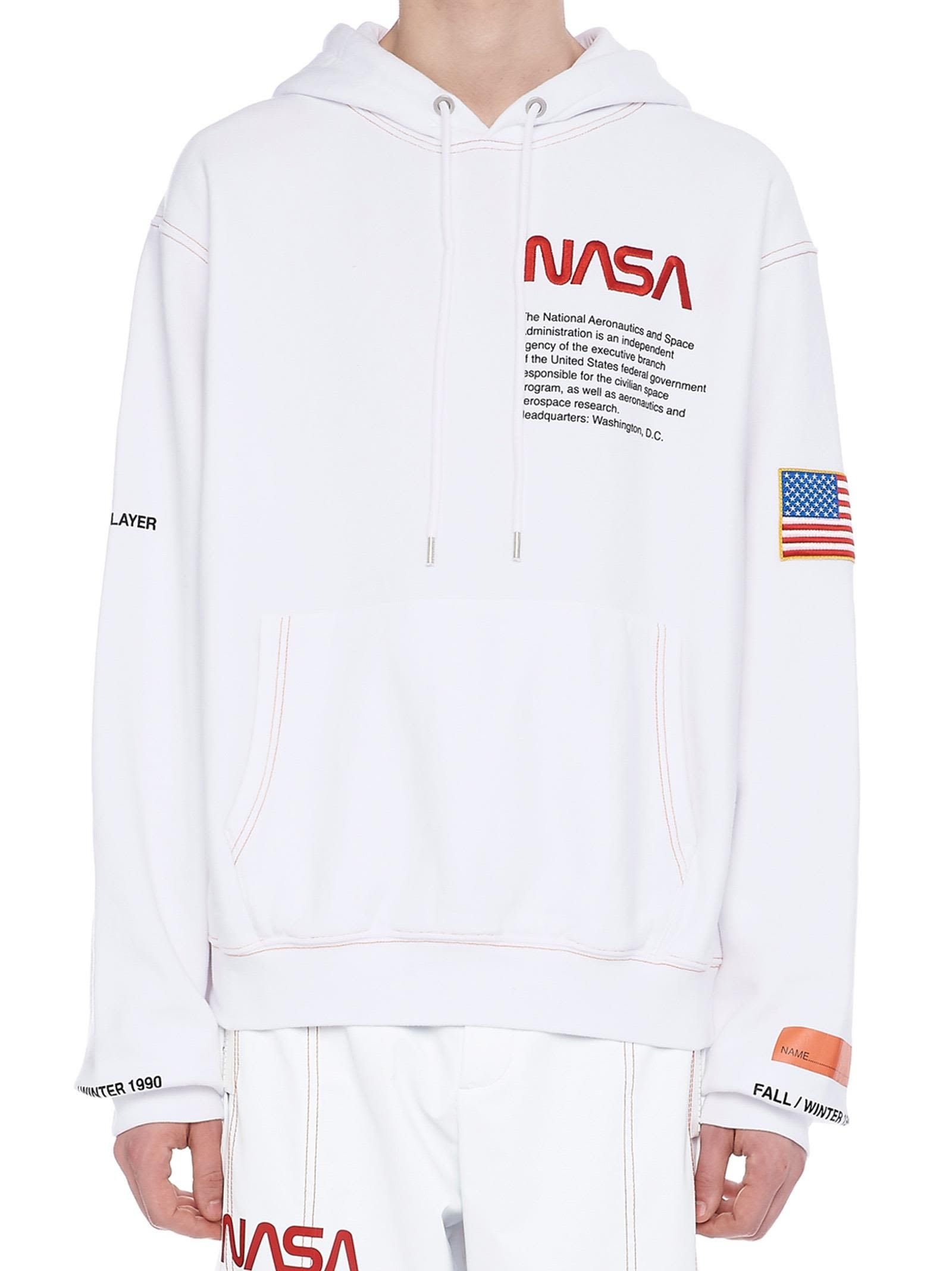 New Unisex Hoodie Hoods Hip hop Heron Preston NASA Pullover Sweatshirts Coat
