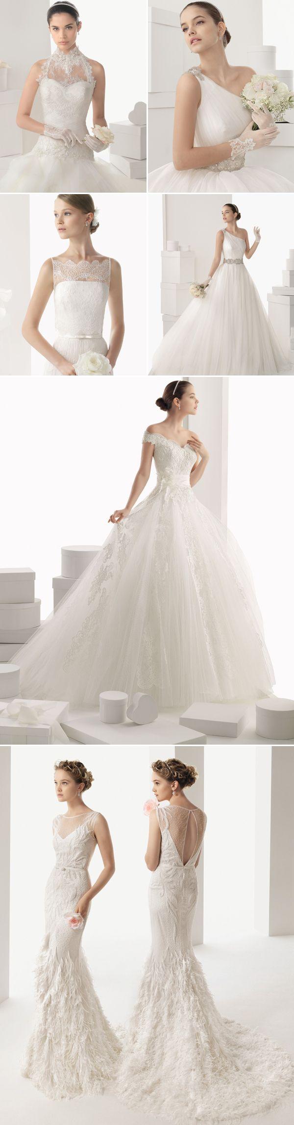 27 Elegant 2014 Bridal Gowns | Pinterest | Rosa clara, Bridal gowns ...