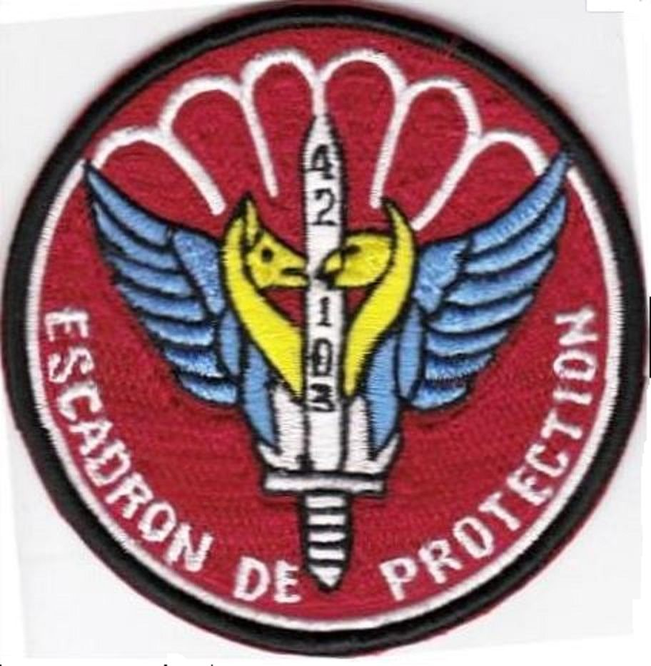 France Air Force 42nd Squadron Airborne Airbase 103 Cambrai-Epinoy