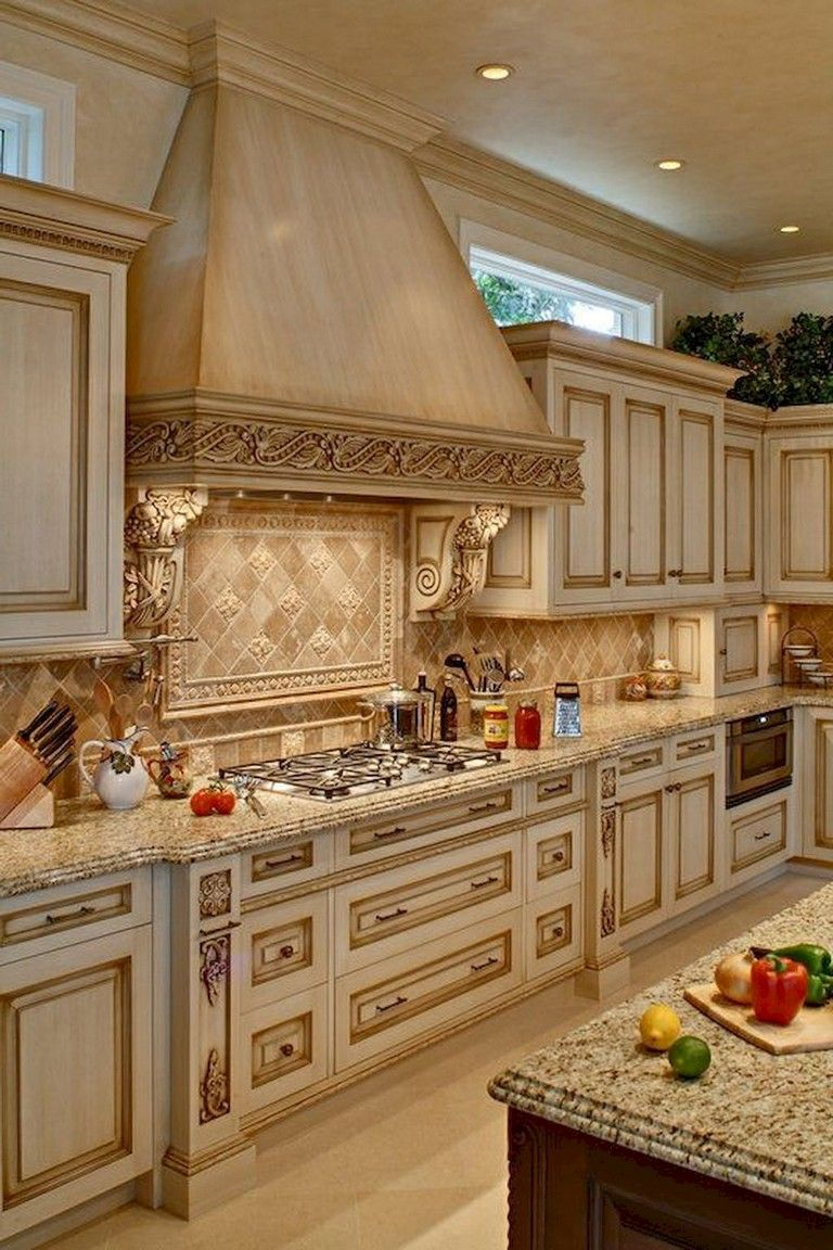 Tuscany Kitchens Old Style Old Style Blue And White Tuscan Italian Style Count In 2020 French Country Kitchen Cabinets Country Kitchen Colors French Country Kitchens