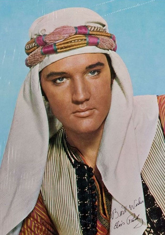 """Elvis Presley en """"A lo loco"""" (Harum Scarum), 1965"""