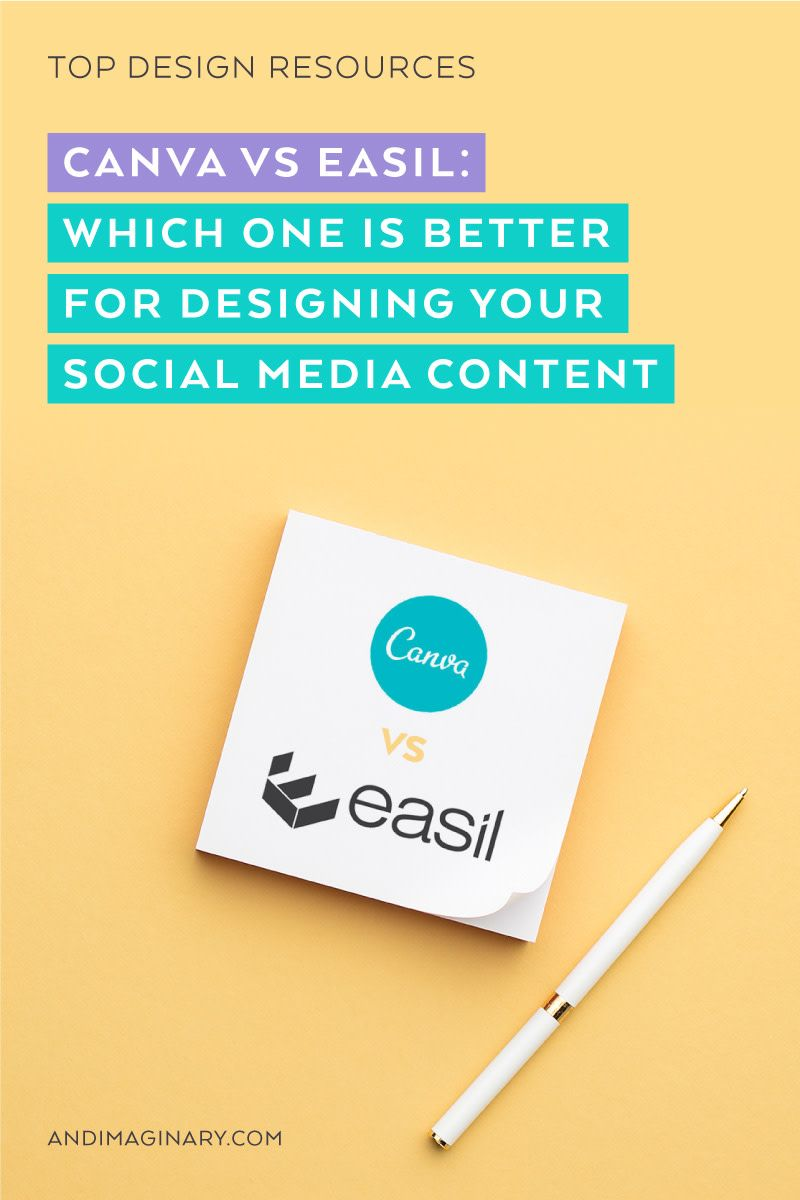 Canva vs easil which free design app works the best to