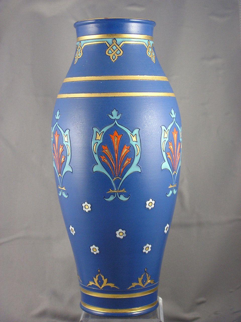 Large villeroy boch mettlach germany arts crafts vase c1910 large villeroy boch mettlach germany arts crafts vase c1910 reviewsmspy