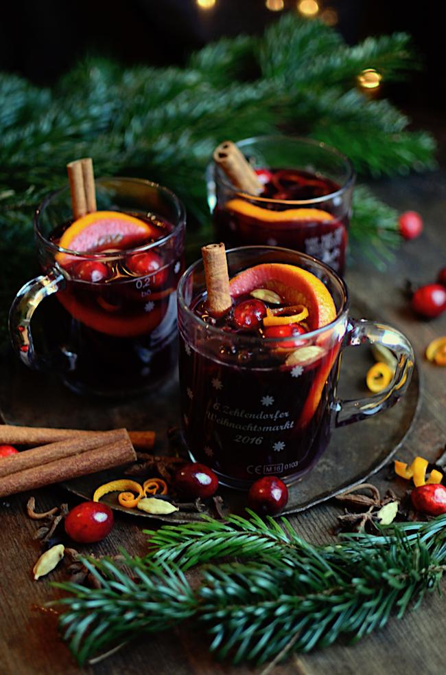 Glühwein {German Mulled Wine} Mulled wine, Christmas