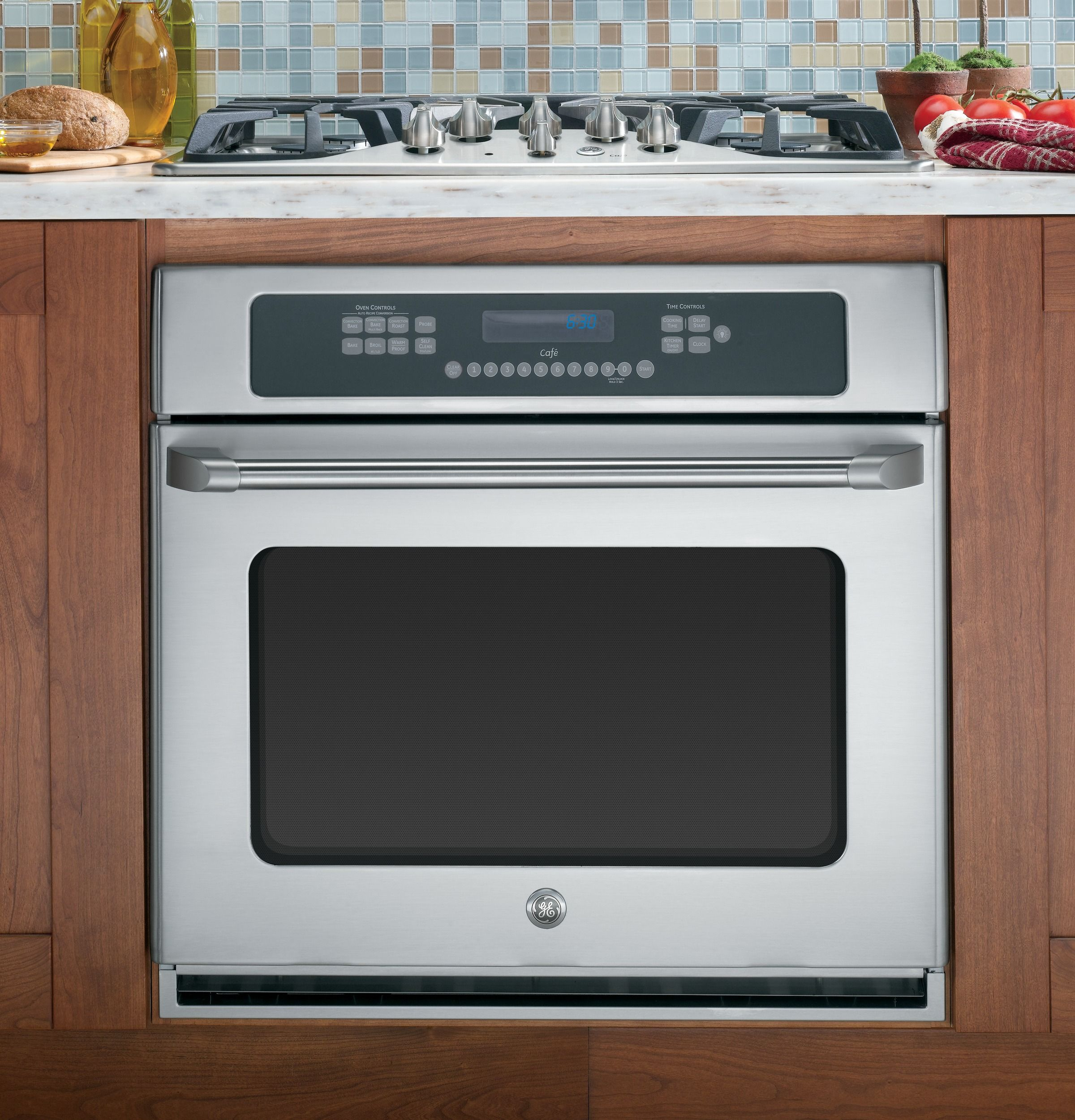 Oven Below Cooktop In Counter Wall Oven Single Electric Wall Oven Gas Wall Oven