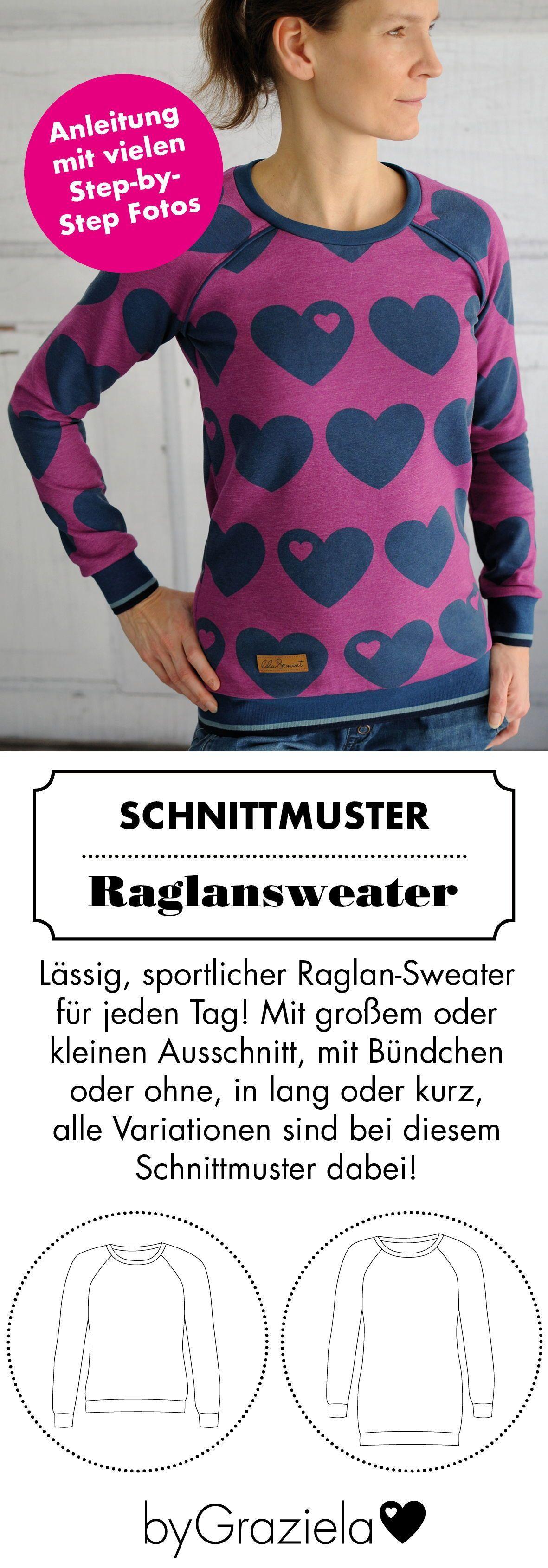 Photo of byNina – Schnittmuster-eBook #shirtschnittmuster Nähen für Anfänger: dieses…