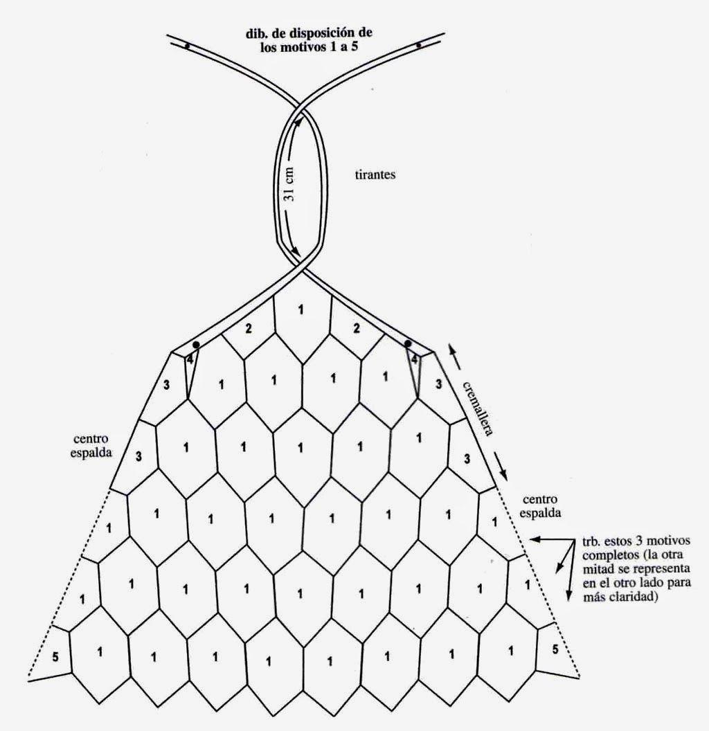 MATERIALES: 15 ovillos de hilo de algodón blanco, del grueso ...