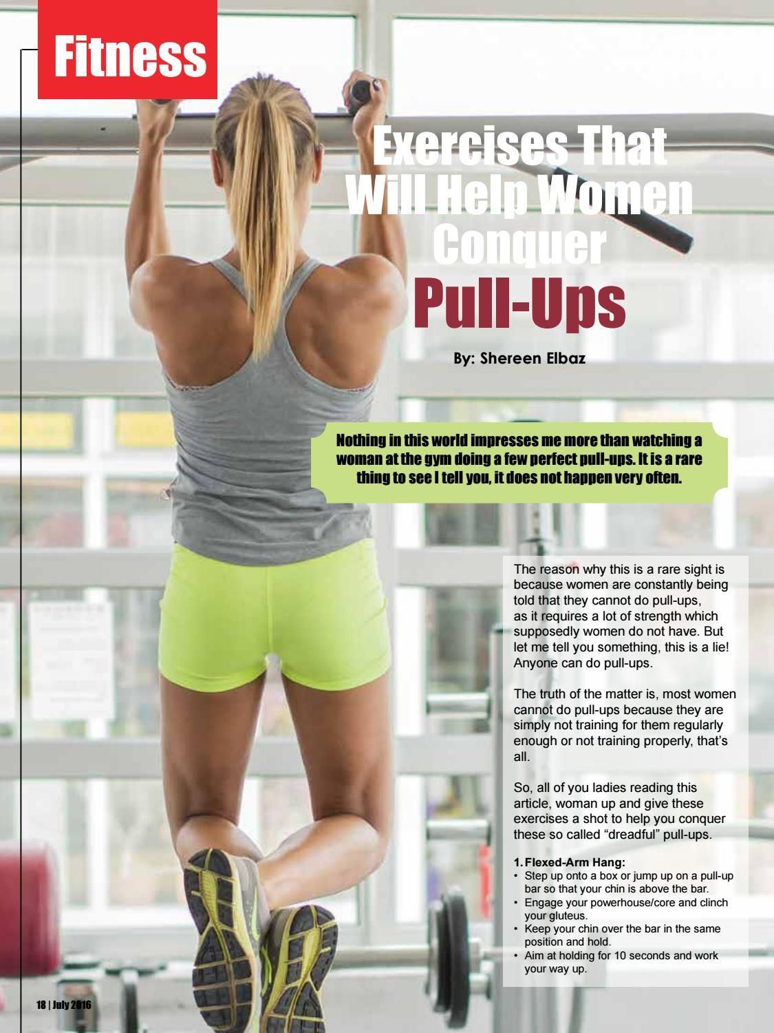July issue 2016 by The Fitness Magazine  - issuu