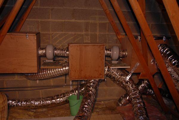 VMC double flux - Autoconstruction - Construire sa maison soi-même