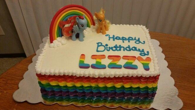 My Little Pony Sheet Cake Rainbow Dash